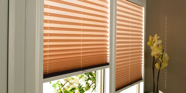 Perfect Fit Pleated Blinds Fitted in St Albans