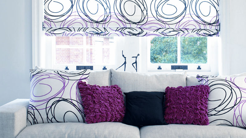 Roman Blinds Expression Blinds