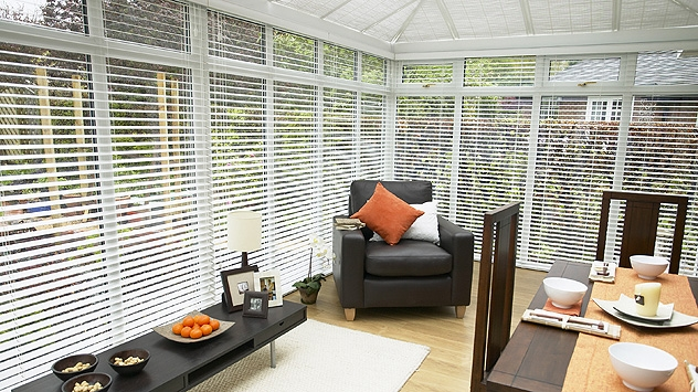 Wooden Conservatory Blinds