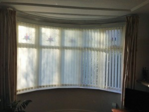 Vertical Bay Window Blinds