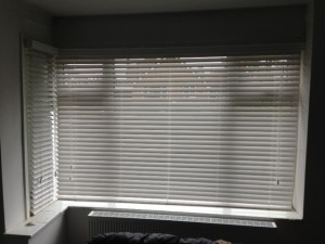 Lounge Wooden Blinds In Stockport