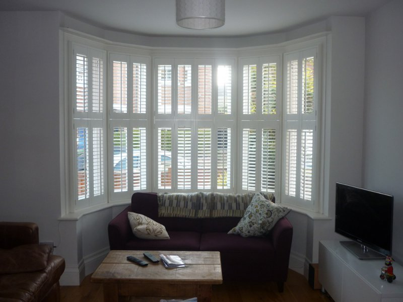 Plantation Shutters For Bay Windows Expression Blinds