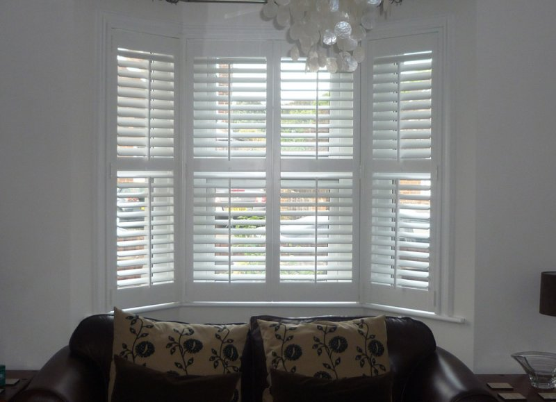 Painting Plantation Shutters White
