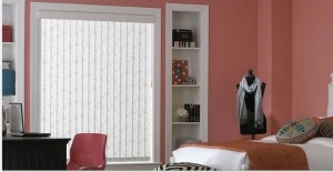 Vertical bedroom blinds