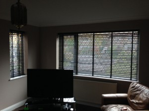 Lounge Blinds - Wooden