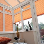 Pleated Inspirations Ginger Blinds