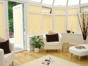 Pleated Inspirations Barley Conservatory Blinds