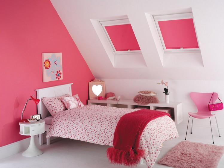 Roller Carnival Pink Blinds