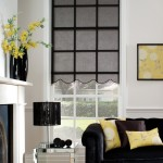 Roller Pinstripe Black Blinds