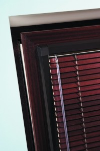 Perfect Fit Brown Venetian Carob Blinds