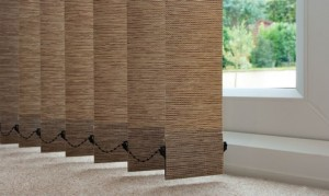 Pharoah Papyrus Vertical Blinds