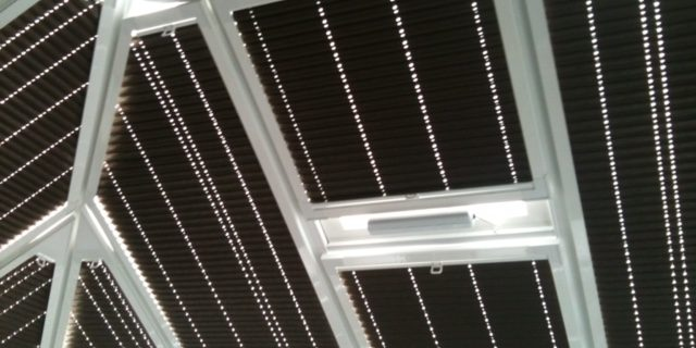 Thermal Conservatory Roof Blinds Expression Blinds