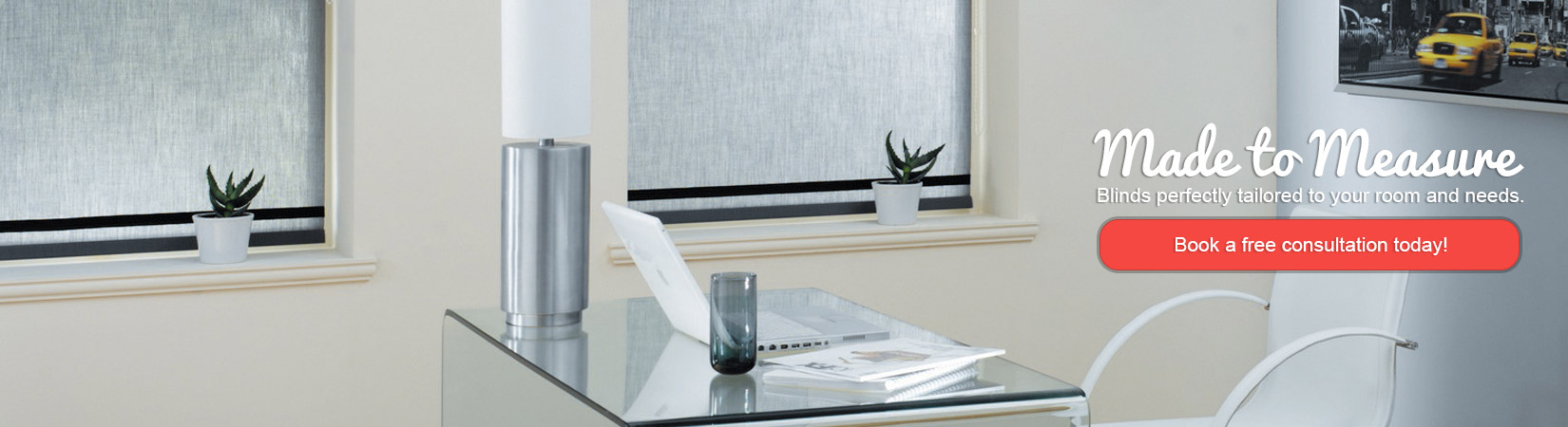 Made to Measure Service from Expression Blinds Cheshire