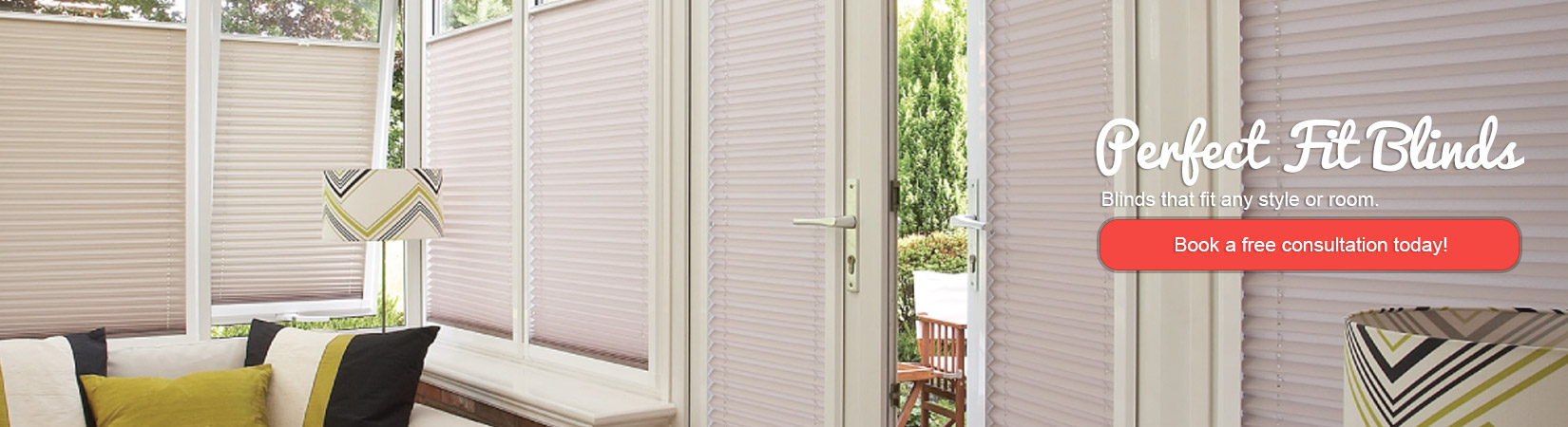 Perfect fit Blinds from Expression Blinds Cheshire