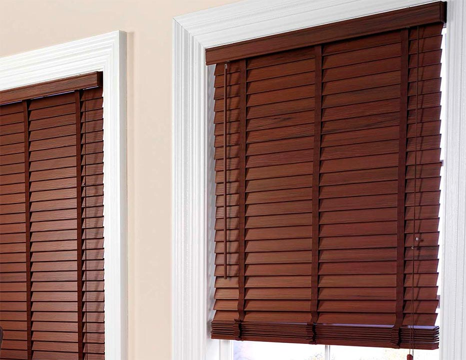 Warrington wooden blinds
